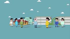 Animação sobre os 50 anos da Cortel
